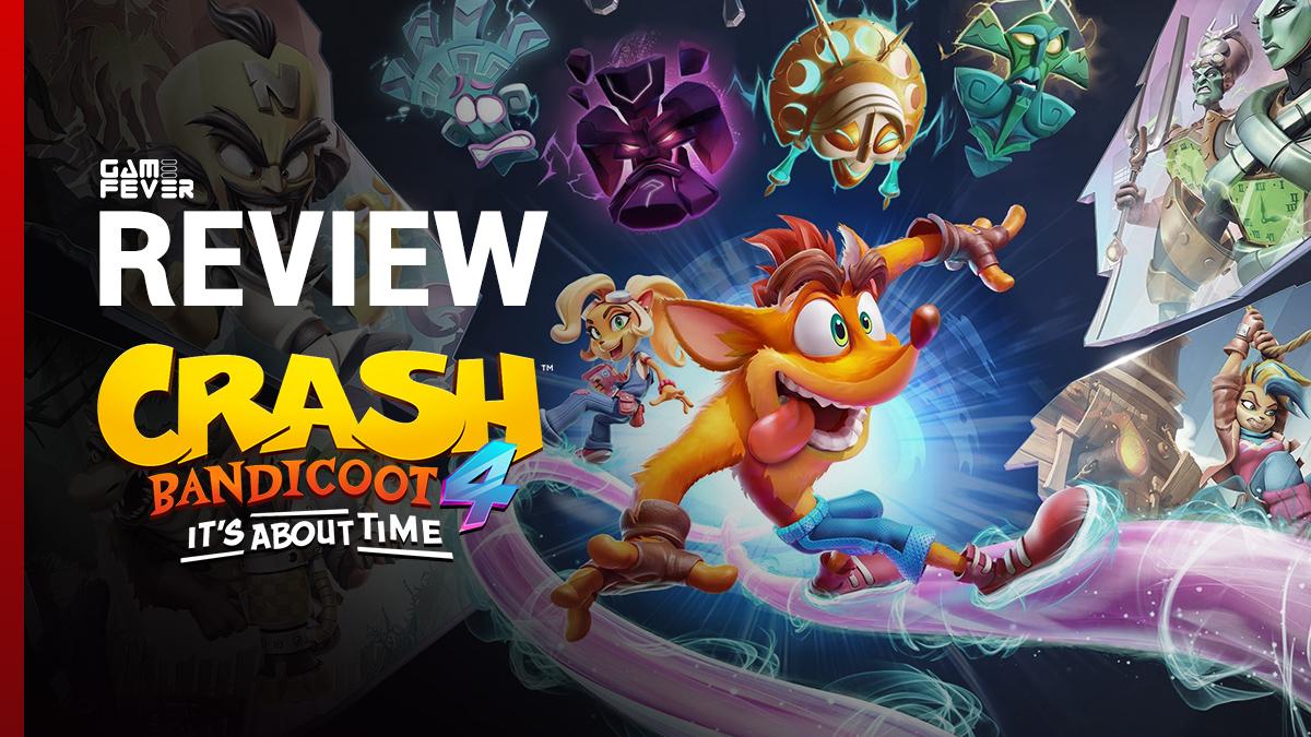 [ Review ] Crash Bandicoot 4: It's About Time สานต่อตำนานหนูพุกอีกครั้งให้แฟนๆ หายคิดถึง