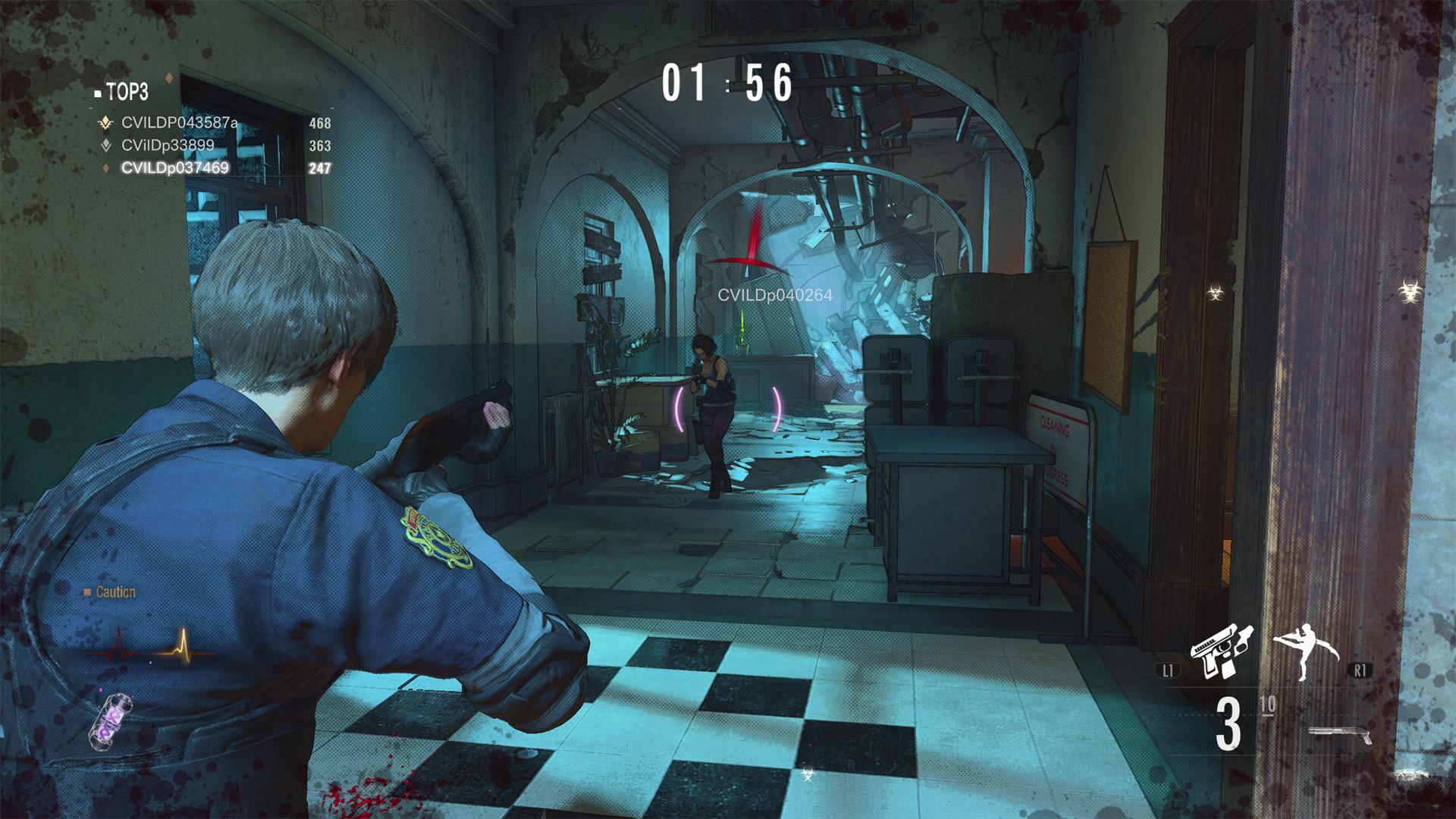 Resident Evil Re:Verse เตรียมเปิดให้ทดลองเล่นอีกครั้ง 13.00 วันนี้ โดยจะเล่นได้ถึง 13.00 พรุ่งนี้