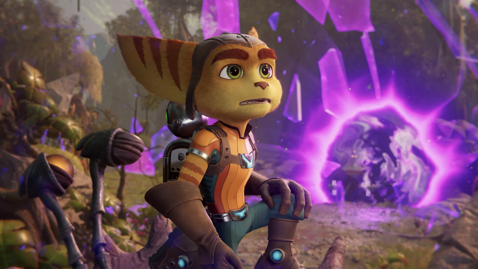 Ratchet and Clank: Rift Apart จะมีเนื้อที่ดาวน์โหลดประมาณ 42 GB