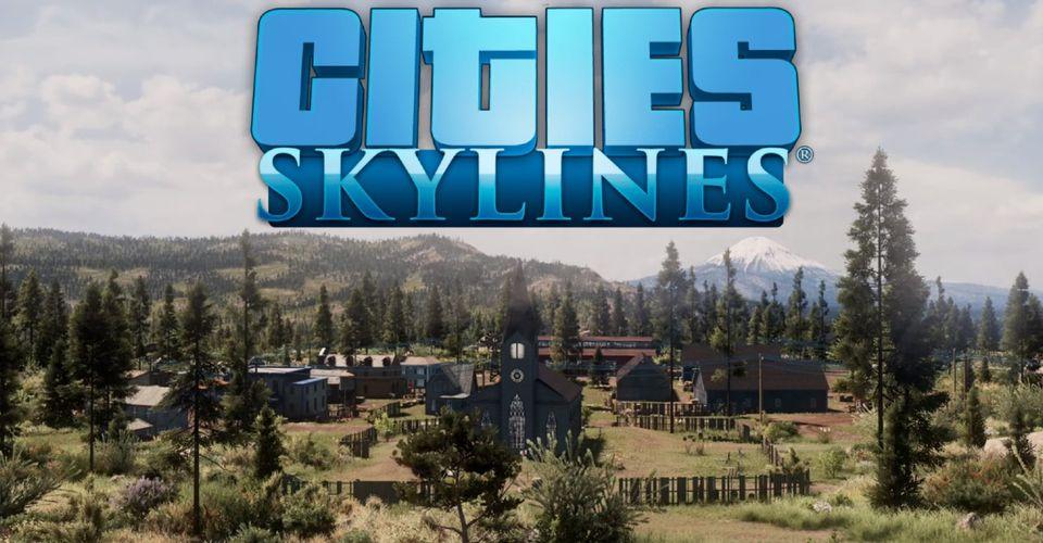 โคตรเจ๋ง !! มือดีสร้างเมืองในเกม Cities: Skylines ให้เหมือนโลกในเกม Red Dead Redemption 2